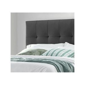 lit 160x200 avec sommier tete et pied achat vente pas cher. Black Bedroom Furniture Sets. Home Design Ideas