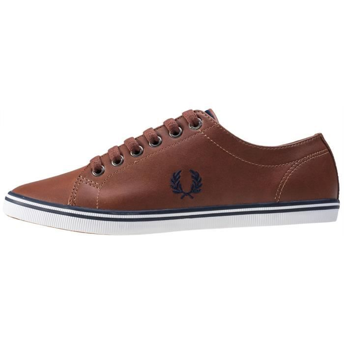 Fred Perry Kingston Mixte Baskets bronzer - 6 UK