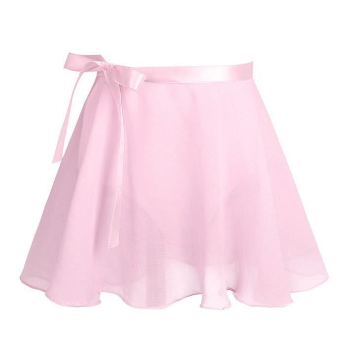Justaucorps Filles Ballet - Coton manches courtes Mousseline de soie Danse  Gymnastique - DE 2 à 12 ans enfants 90804853f52