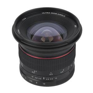 PLANCHE POUR LENTILLE Objectif de caméra fixe professionnel sans miroir