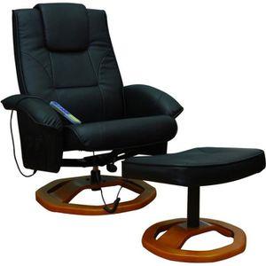 FAUTEUIL Fauteuil de massage vibration électrique relaxatio