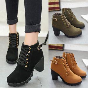 BOTTE Bottes de femmes chaussures à talons hauts