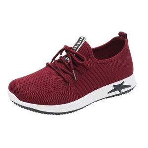 BASKET Mode féminine Casual Lace Up Mesh Chaussures respi