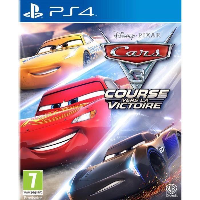 Cars 3 Jeu PS4