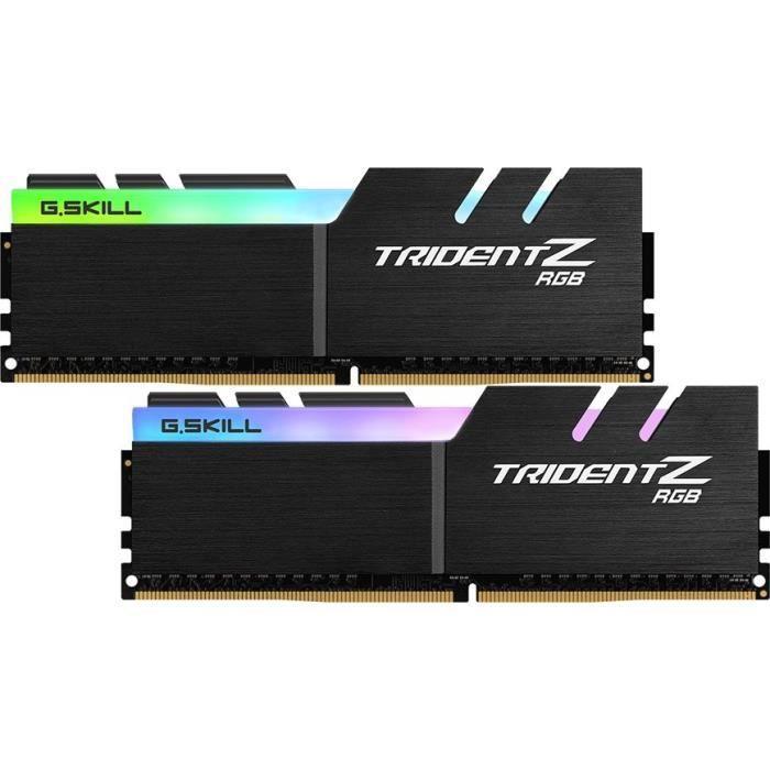 GSKILL Mémoire PC PC4-19200 TZ RGB - Kit de 16Go (2x8Go) - DDR4 - 2400 Mhz - 15-15-15-35 - 1.2VMEMOIRE PC - PORTABLE