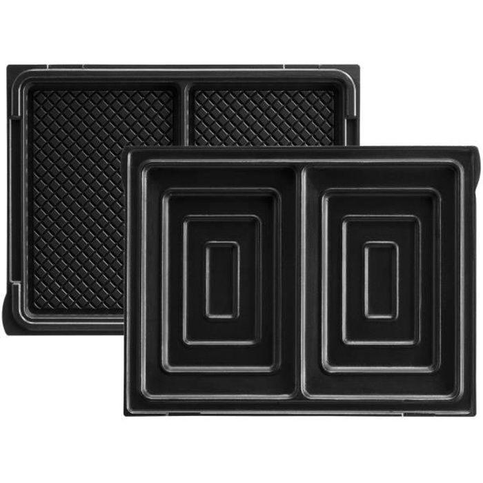 LAGRANGE Accessoires 020422 Jeu de plaques à croque-monsieur Tarti' Gaufres