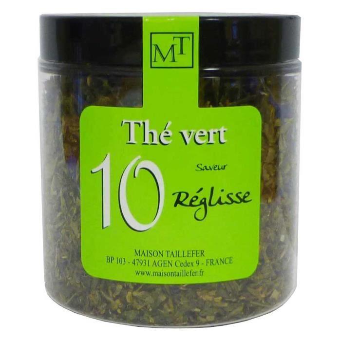 Thé Vert Réglisse Pot 70g