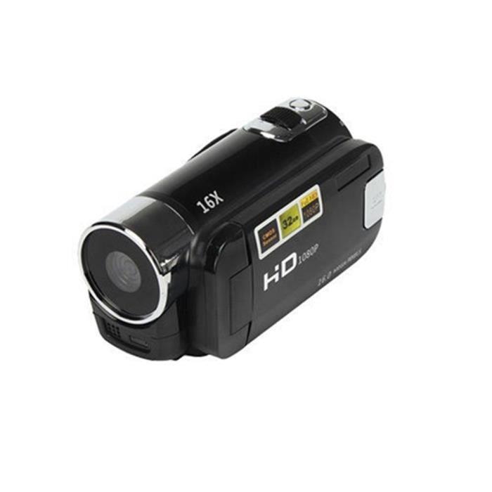 1X HD100 Caméscope numérique Caméra vidéo Noir Voyage Pratique ... ec68fd96d155