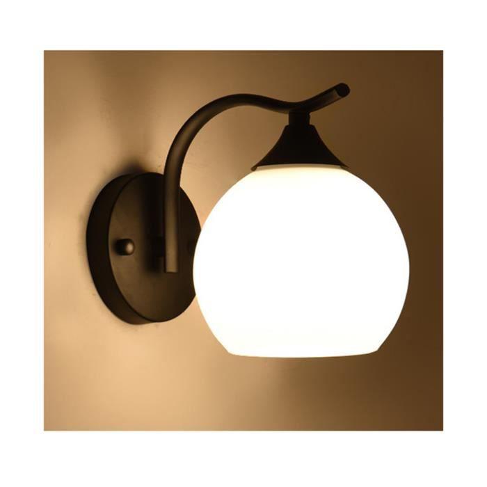 Stars® Led Couloirampoule Interieur Mur Sphérique Pour E27 Salon Moderne Lampe De Applique IncluseNoir Murale 8n0wvmNO