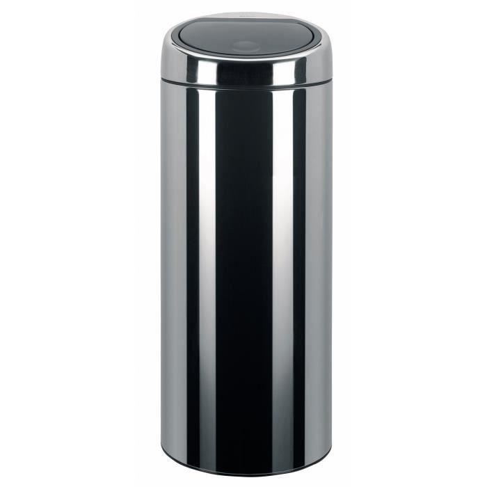 poubelle brabantia touch bin 30 litres en acier… - achat / vente