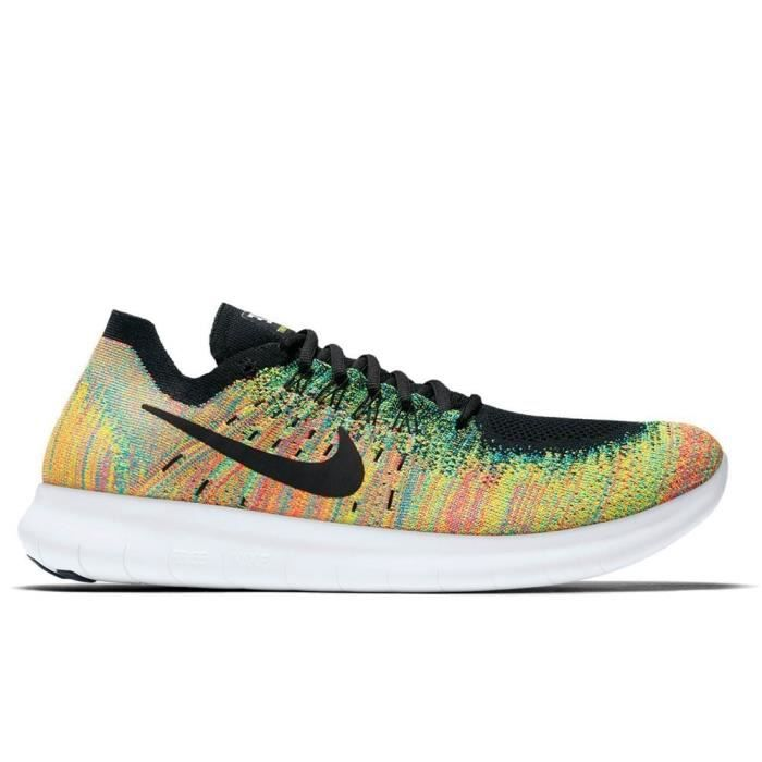 sale retailer 72158 bc8ad BASKET Chaussures Nike Free RN Flyknit 2017 880843 005