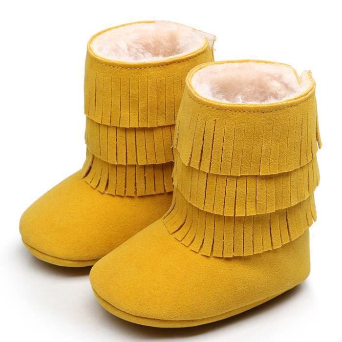Garder chaud double-deck glands Soft neige bottes Soft berceau chaussures tout-petits Botts bleu gZRdATO9d