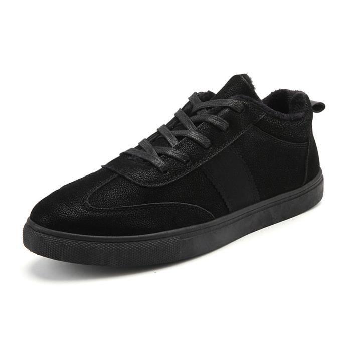 Sneaker Homme Beau Extravagant Chaussure Couleur Unie Garder au chaud Plus De Cachemire LéGer Qualité Supérieure Classique 39-44 0YMzD4IzT