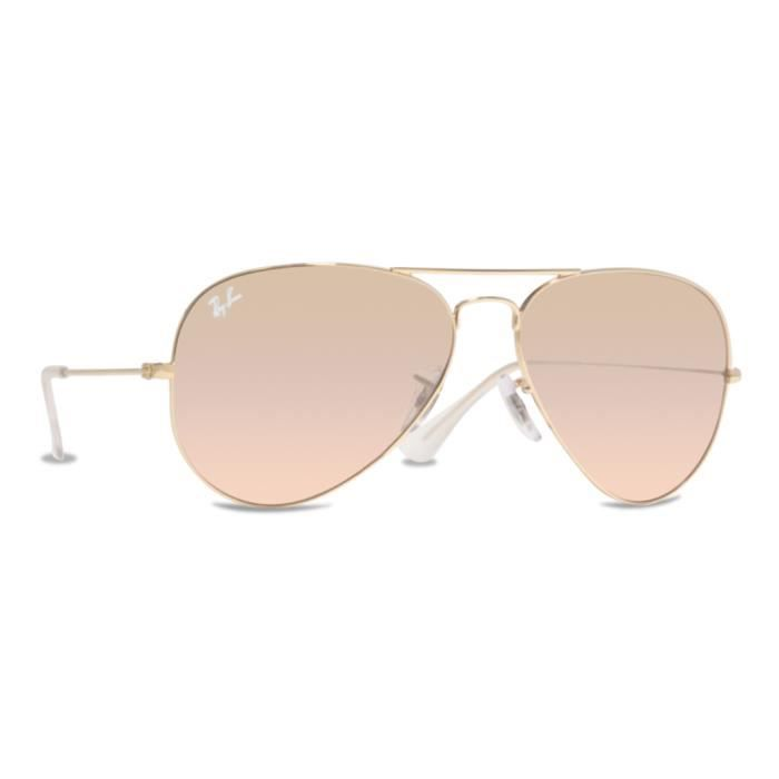 Ray Ban Lunettes de soleil Unisexe RB3025 001 3… Or, vert - Achat ... 6f04b9f1ed01