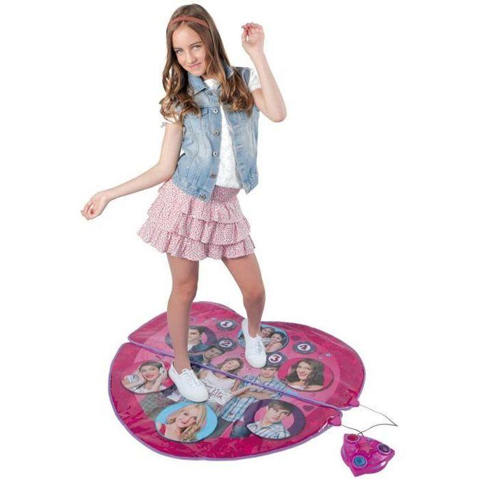 Tapis de danse enfant achat vente jeux et jouets pas chers - Jeux de fille de violetta ...