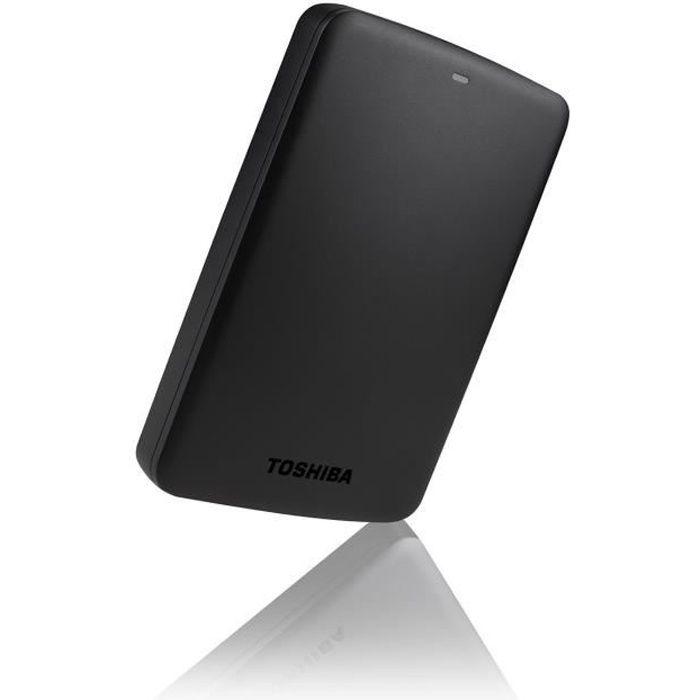 DISQUE DUR EXTERNE Toshiba Disque Dur CANVIO BASICS 2.5 1 To Noir + 1