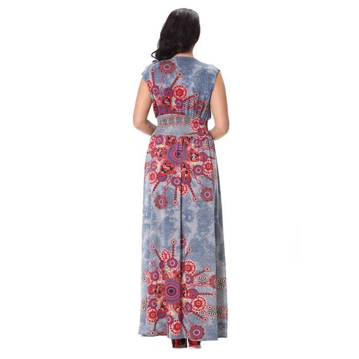 Femme Robe Multicolore Rayures Sans ManchesAmincissant Taille Haute Pour Toutes Les Occasions Eté Cool Respirent Frais