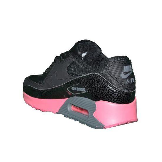 Nike Basket Femme Air Max 90 181 Noir Noir Achat