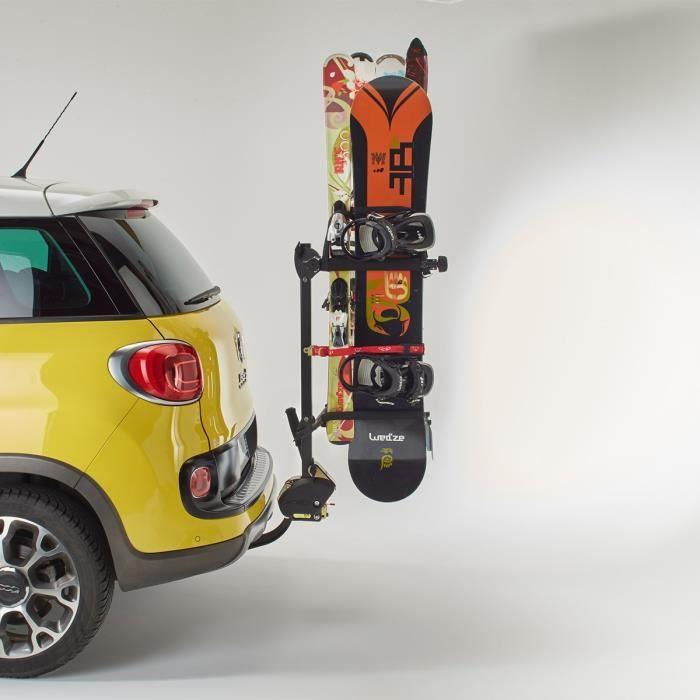 mottez a022p porte-ski et surf sur attelage - achat / vente porte