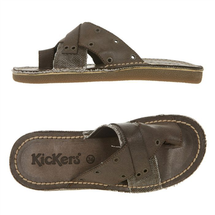 2f8f717adc49ba KICKERS Tong Olympia Femme - Achat / Vente KICKERS Olympia pas cher ...