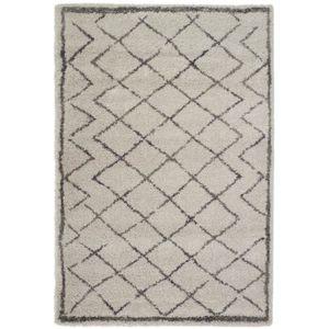 TAPIS BERBERE Tapis de salon 160x230 cm beige et gris