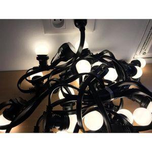 guirlande lumineuse ampoules exterieure achat vente guirlande lumineuse ampoules exterieure. Black Bedroom Furniture Sets. Home Design Ideas