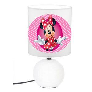 Vente Chevet Achat Pas Lampe Minnie De Cher FJ1clK