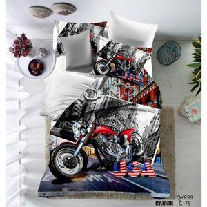 gallery of housse de couette parure de lit pices housse de couette polyester with housse de. Black Bedroom Furniture Sets. Home Design Ideas