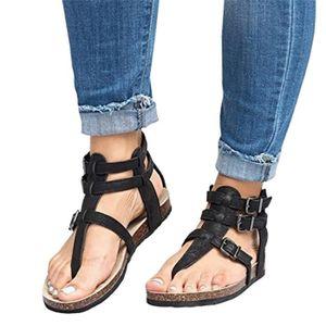Napoulen®Femmes doux Chaussures de broderie épaisses pieds en bas populaire Rouge-XYM70906908RD ttvlfW6