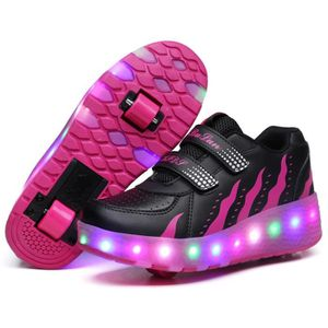 SKATESHOES Mode Baskets Enfants Chaussures à Roulettes Garons