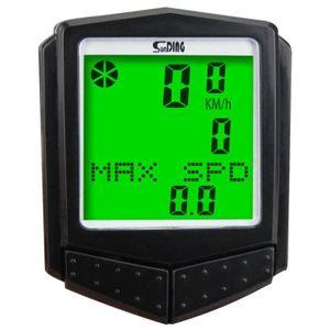 DÉCORATION DE VÉLO Sunding SD 573C1ordinateur de velo chronometre ta