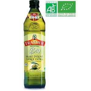 HUILE TRAMIER Huile d'Olive vierge extra Bio - 75 cl