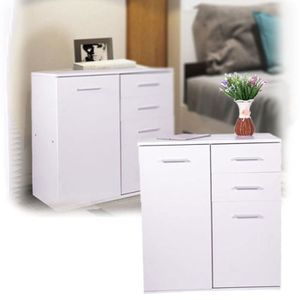 petit meuble rangement 2 porte meuble de rangement armoire de stockage en - Meuble De Rangement Petite Profondeur