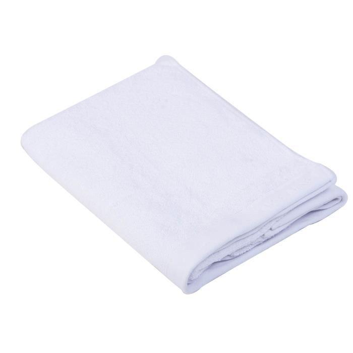 NAF NAF Drap de bain 100% coton Casual - 70x140 cm - Blanc