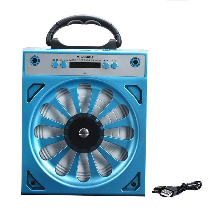 Extérieur Bluetooth Portable Sans Fil Super Bass Haut-parleur Avec Usb-tf-aux-radio Fm 156bt