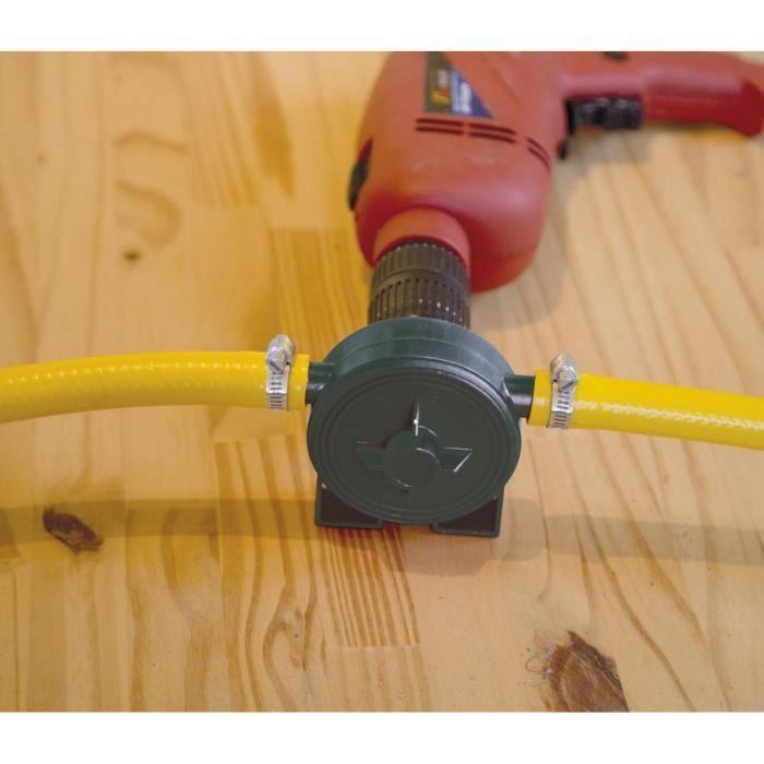 mini pompe pour perceuse 60 litres min transvase achat vente pompe arrosage mini pompe. Black Bedroom Furniture Sets. Home Design Ideas