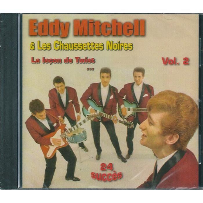 184f12d4008 CD VARIÉTÉ FRANÇAISE EDDY MITCHELL   LES CHAUSSETTES NOIRES (CD)