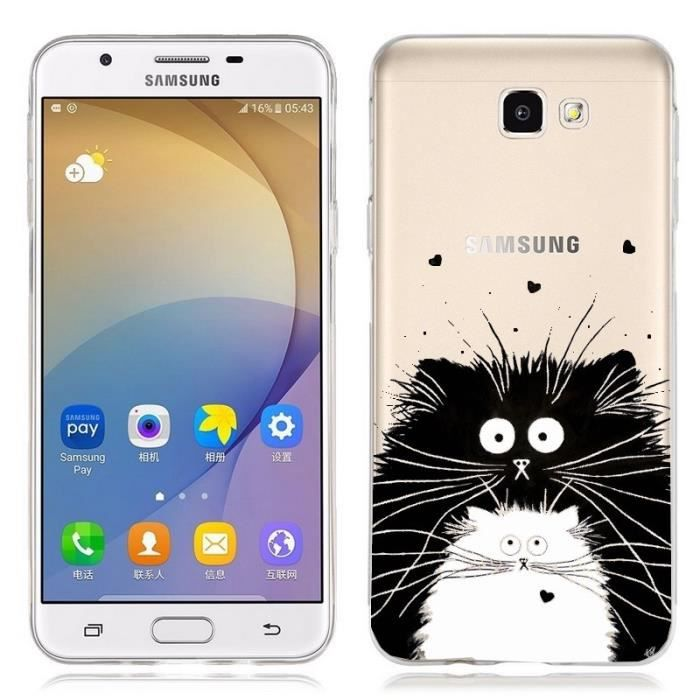 coque galaxy a5 2017 chat