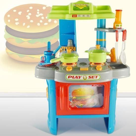 Cuisine jouet pour enfant kdk07blue cookie achat - Jouet cuisine pour enfant ...