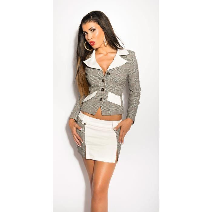 veste blanche femme veste blanche femme veste femme courte. Black Bedroom Furniture Sets. Home Design Ideas