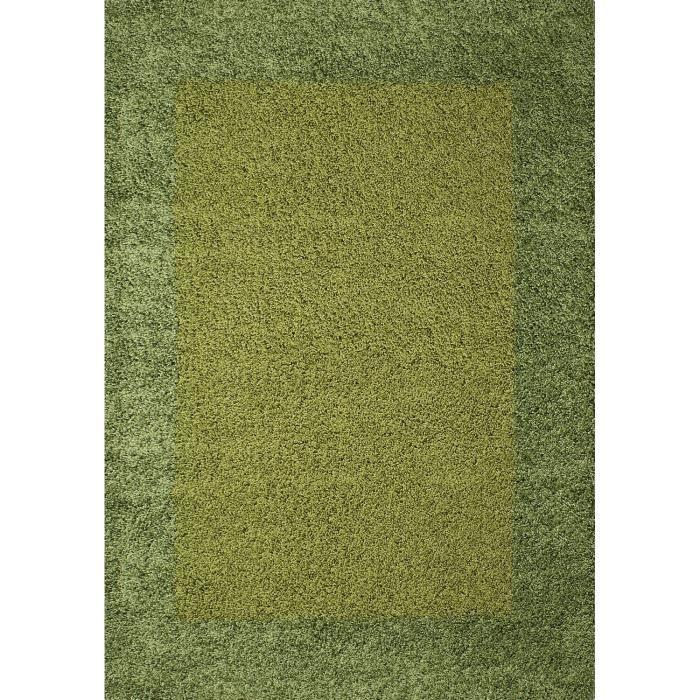 life tapis de salon shaggy 160x230 cm vert deau - Tapis Vert D Eau