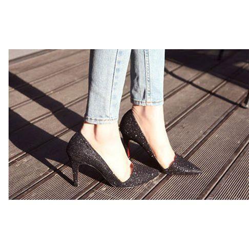 Escarpins femme/ chaussure de mariage / Talon P...