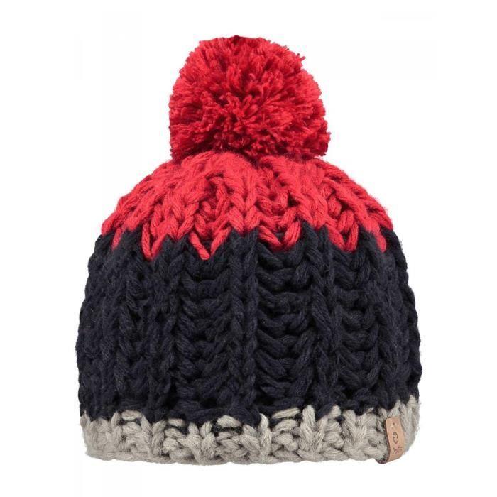 0eb679e7331 BARTS - Bonnet à pompon marine rouge enfant garçon du 3 au 16 ans Barts