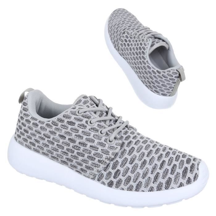 Femme chaussures loisirs chaussures lacer Sneaker rose 36 J2pHoi