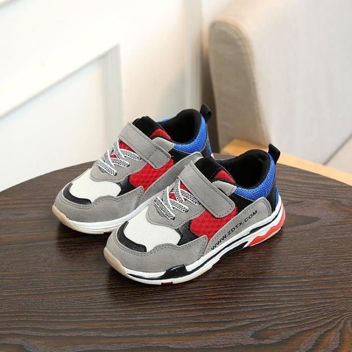 Basket Enfants Chaussures de sport Fille Garçon Mode Sportswear Chaussures