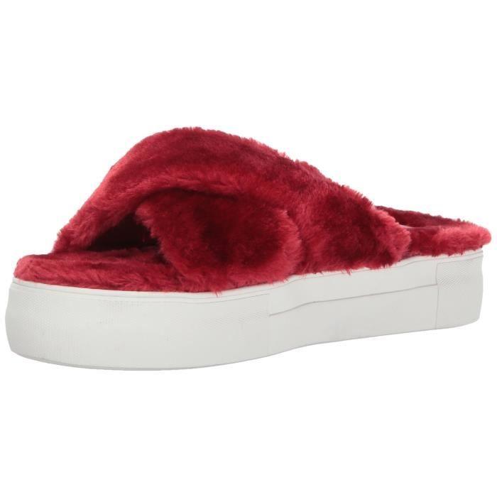 Jslides Adorablee Sneaker Mode, Rouge, 7.5 nous - nous Pointures M nous KG9UN Taille-40