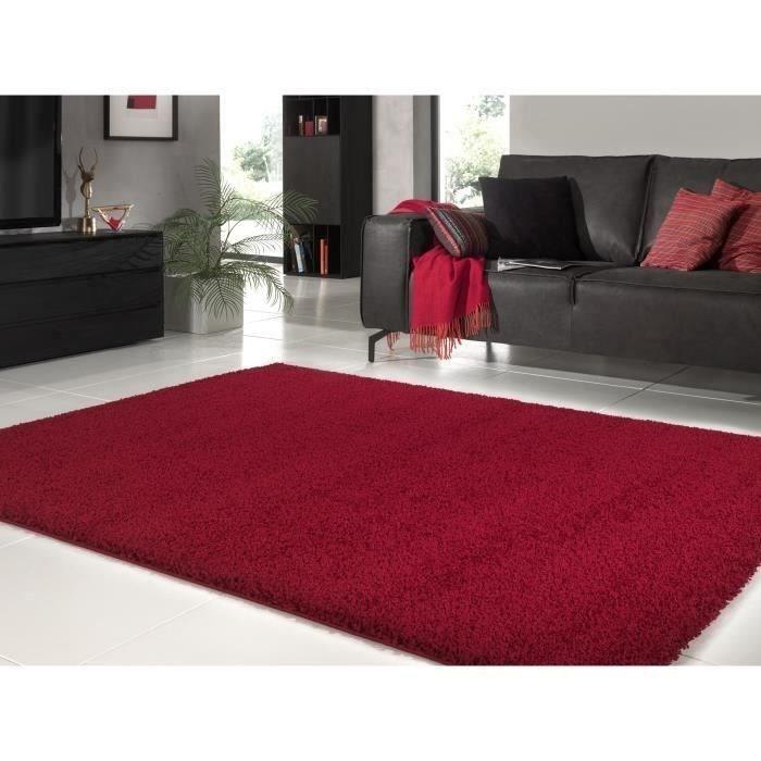 tapis salon rouge 160x230 achat vente tapis salon rouge 160x230 pas cher soldes d s le 10. Black Bedroom Furniture Sets. Home Design Ideas