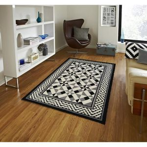 tapis carreaux de ciment achat vente pas cher. Black Bedroom Furniture Sets. Home Design Ideas