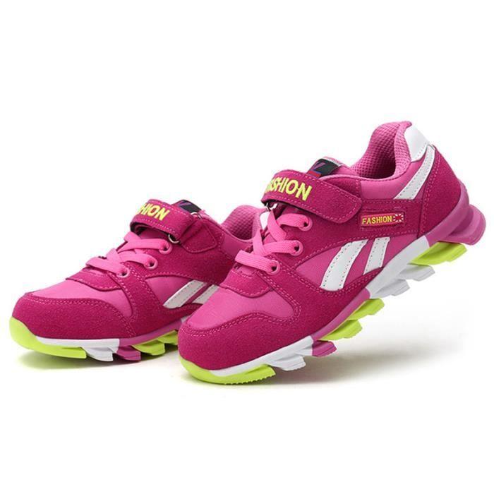 Chaussures Enfants De Sport Garçons Filles Classique Sneakers BXX-XZ097Rose26 Fwq0Mce7