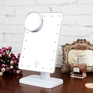 MIROIR Chaude Vente  Réglable Luminosité 20 LED lampe Mir